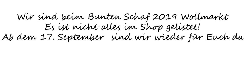 Buntes Schaf 2019
