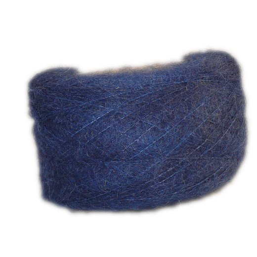 Navy Blue - Brushed Mohair Extra Fine