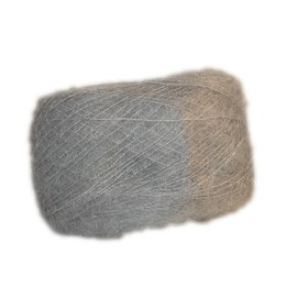 Dark Grey - Brushed Mohair Extra Fine
