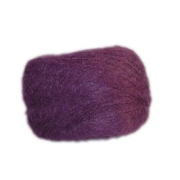 Dark Purple - Brushed Mohair Extra Fine